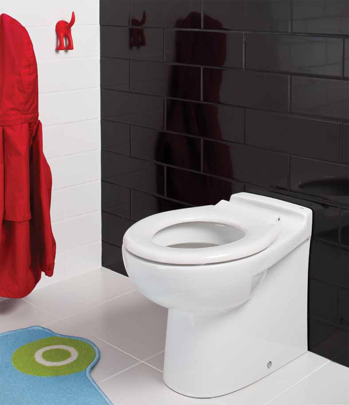 RAK - Junior Back to Wall WC Pan with Ring Seat profile large image view 1