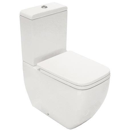 RAK Metropolitan Close Coupled BTW Toilet + Quick Release Soft Close Urea Seat
