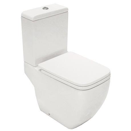 RAK Metropolitan Close Coupled Modern Toilet + Soft Close Seat