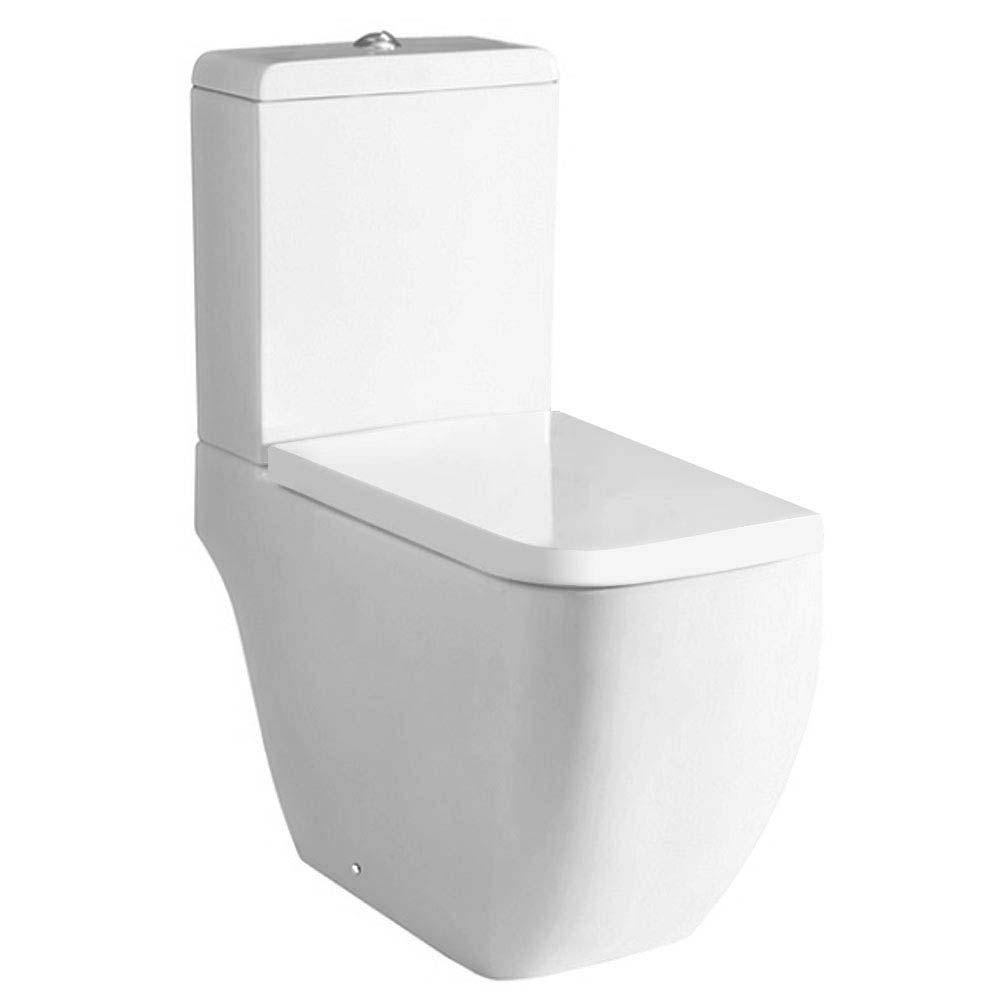 RAK Metropolitan Close Coupled Modern Toilet with Soft Close Seat Large Image