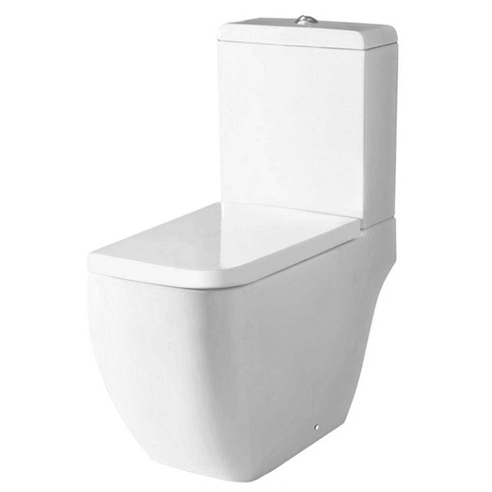 RAK Metropolitan Deluxe 4 Piece Suite - Deluxe WC & Basin Profile Large Image