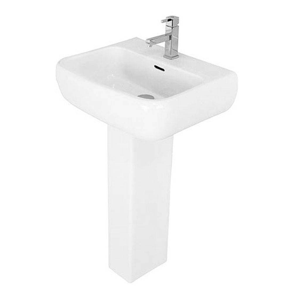 RAK Metropolitan Deluxe 4 Piece Suite - Deluxe WC & Basin Feature Large Image