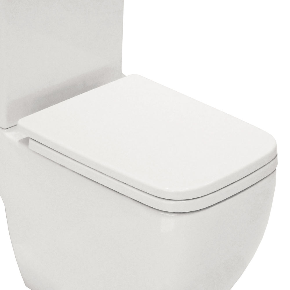 black square toilet seat. RAK Metropolitan Soft Close Toilet Seat Square Seats  Victorian Plumbing