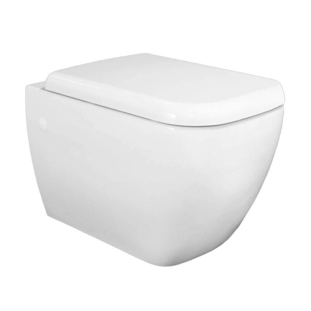 RAK Metropolitan Wall Hung Pan & Soft Close Seat Large Image