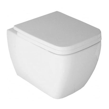 RAK Metropolitan Wall Hung Pan + Soft Close Seat