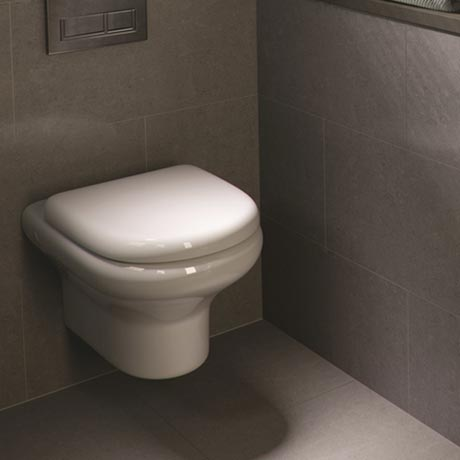 RAK NEW Compact Wall Hung WC with Soft Close Urea Seat