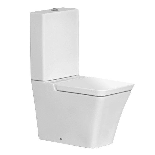 RAK Opulence 4-Piece Set -Toilet & 58cm Hers Basin - 1TH - White Feature Large Image