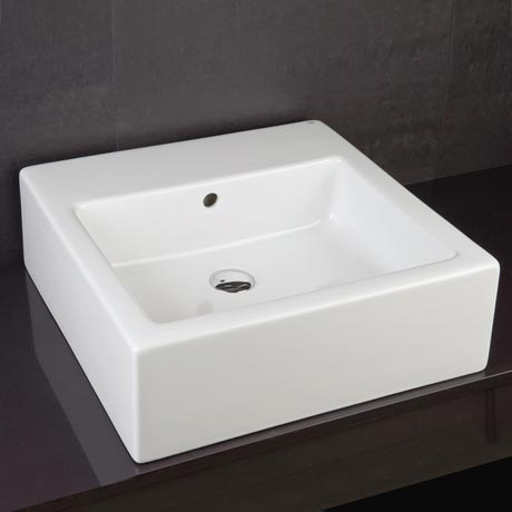 RAK Patrizia 50cm Square Counter Top Basin - PATRIZ