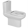 RAK - Compact Special Needs Extended Projection Rimless CC Toilet - Seat Selection profile small image view 1