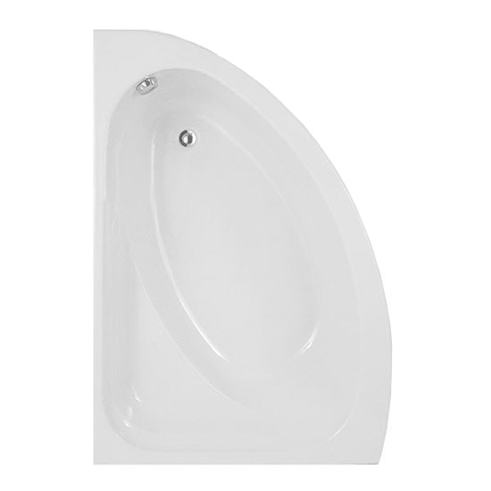 RAK Series 600 Bathroom Suite with Orlando Corner Bath - Left Hand Option Feature Large Image