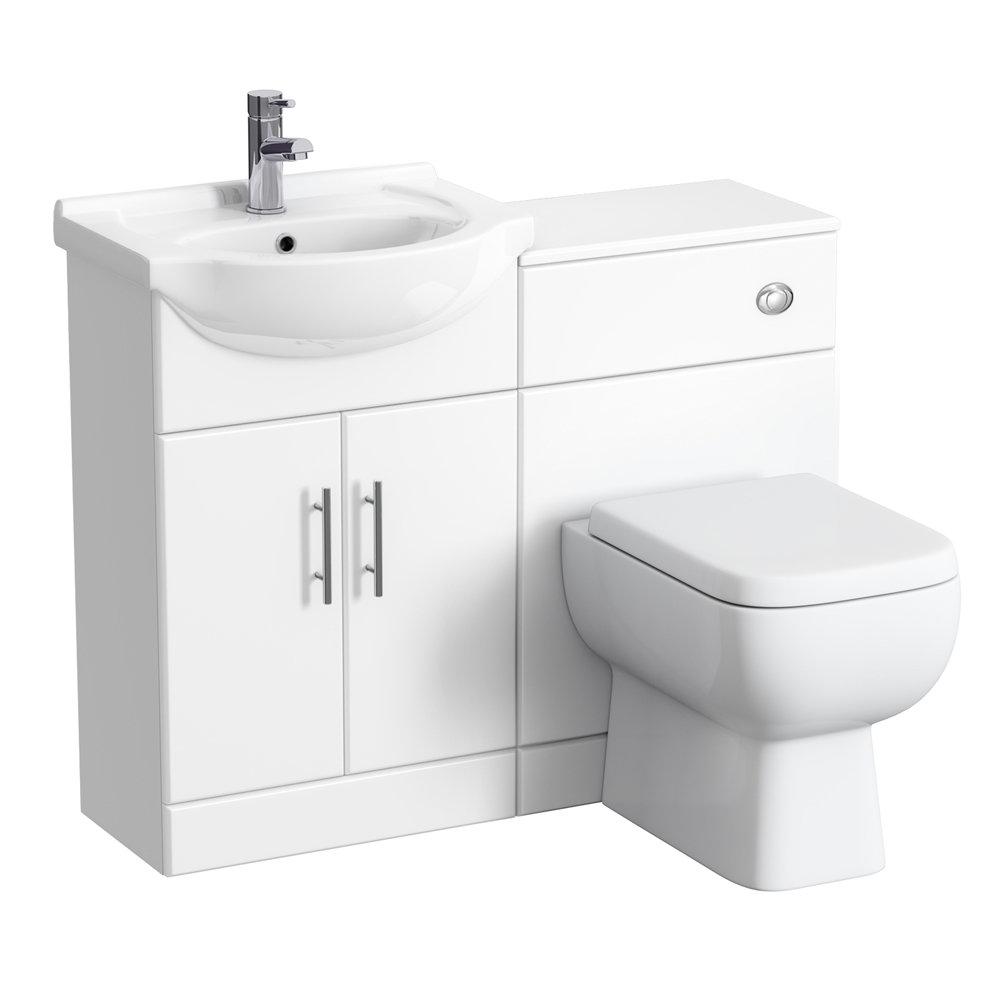 RAK Series 600 1050mm Vanity Unit Cloakroom Suite (Depth 300mm) profile large image view 1