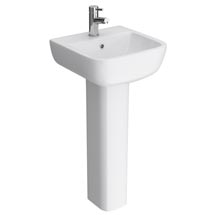 RAK Series 600 40cm Basin With Full Pedestal Medium Image