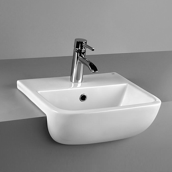 RAK Series 600 42cm Semi Recessed Basin profile large image view 1