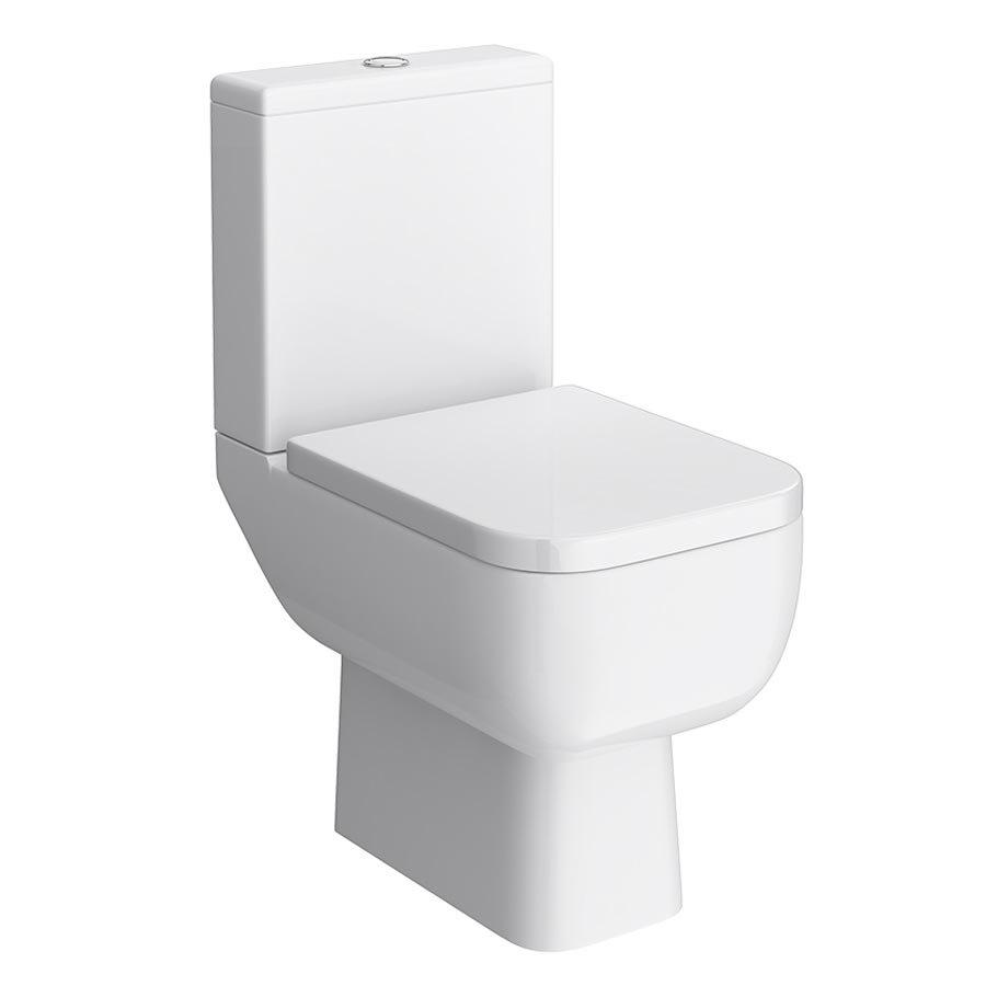 RAK Series 600 Cloakroom Suite - Close Coupled WC & 40cm Hand Basin profile large image view 2