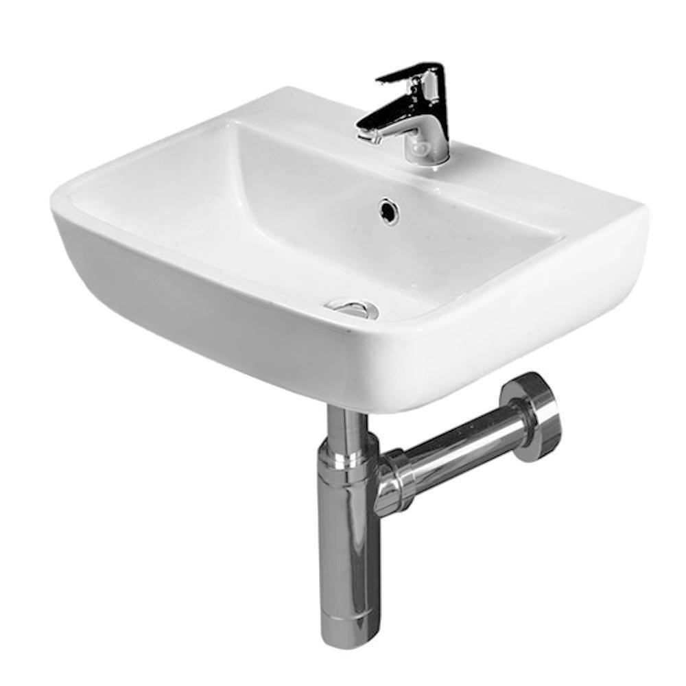 RAK Series 600 Cloakroom Suite - Close Coupled WC & 40cm Hand Basin profile large image view 3