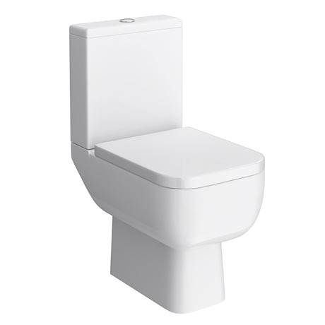RAK Series 600 Close Coupled Modern Toilet with Soft Close Seat