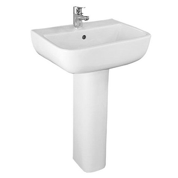 RAK Series 600 WC PAK with Soft Close Seat and 1TH Basin Feature Large Image
