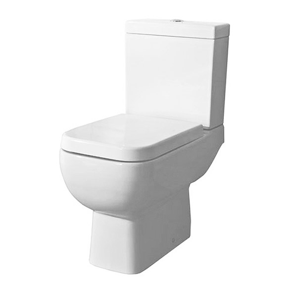RAK Series 600 WC PAK with Soft Close Seat and 1TH Basin Standard Large Image