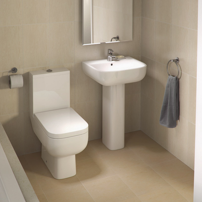 RAK Series 600 WC PAK with Soft Close Seat and 1TH Basin Large Image