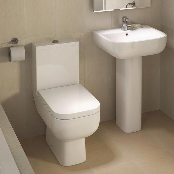 RAK Series 600 Wrap Over Urea Toilet Seat profile large image view 2