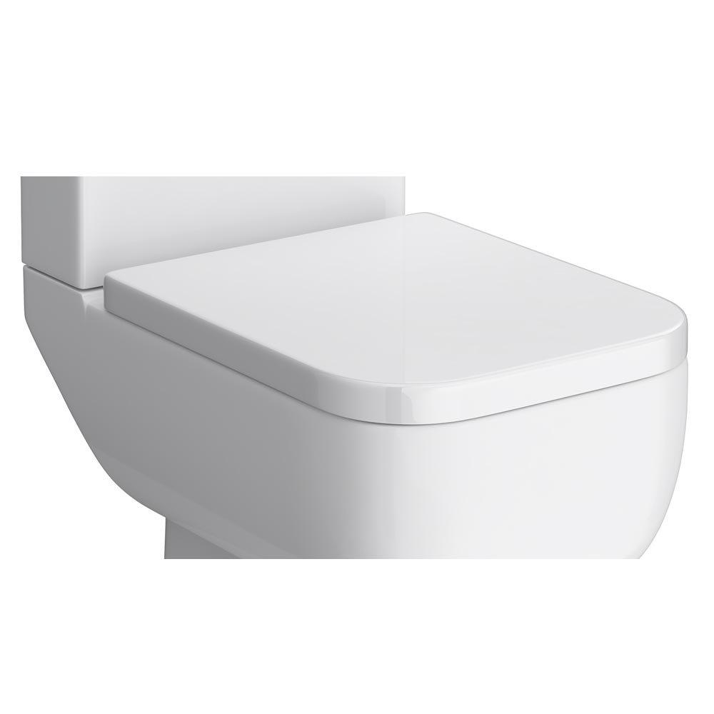 RAK Series 600 Wrap Over Urea Toilet Seat Large Image