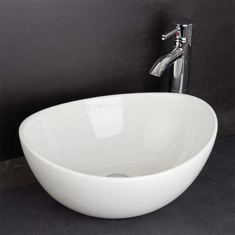 RAK - Shell Sit On Vanity Basin - No TH - SHELBAS Standard Large Image