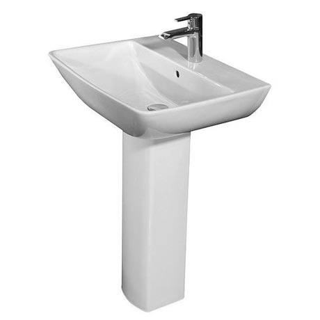 RAK Summit 50cm Basin 1 TH & Pedestal