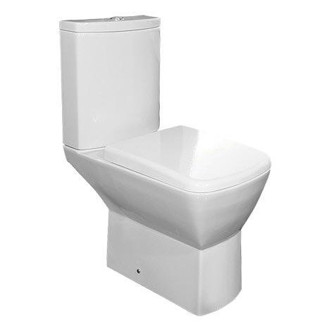 RAK Summit Close Coupled Toilet with Soft Close Seat