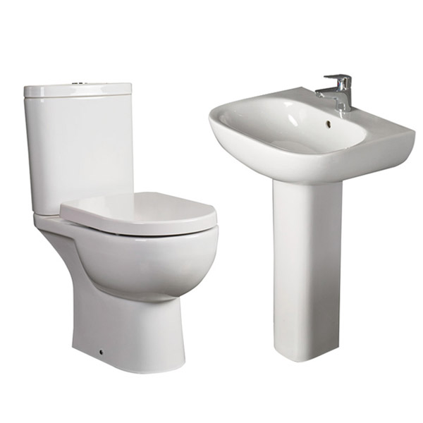 RAK Tonique 4 Piece Bathroom Suite profile large image view 2