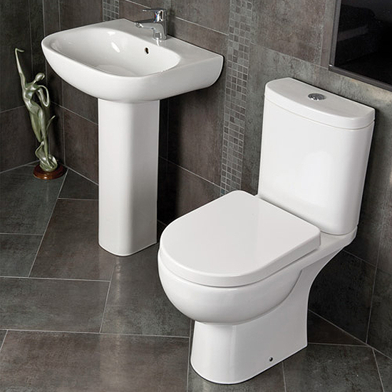 RAK Tonique 4 Piece Bathroom Suite profile large image view 1