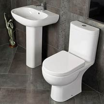 RAK Tonique 4 Piece Bathroom Suite Medium Image