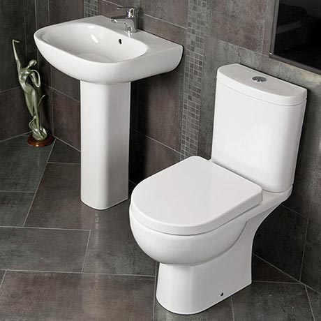 RAK Tonique 4 Piece Bathroom Suite