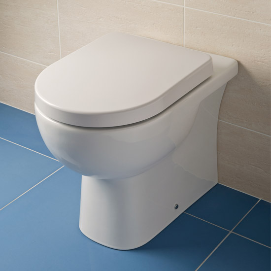 RAK - Tonique Back to wall pan with soft-close seat profile large image view 2
