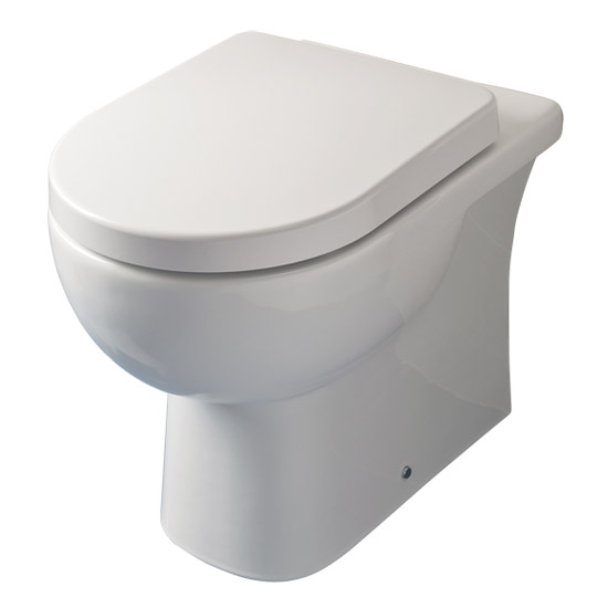 RAK - Tonique Back to wall pan with soft-close seat Large Image