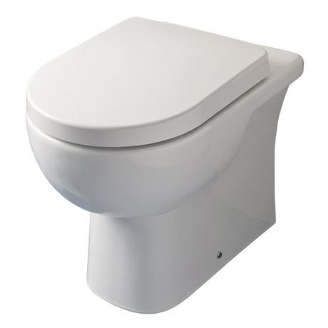 RAK - Tonique Back to wall pan with soft-close seat
