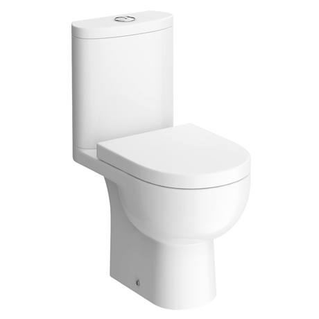 RAK Tonique Close Coupled Full Access Toilet with Soft Close Seat