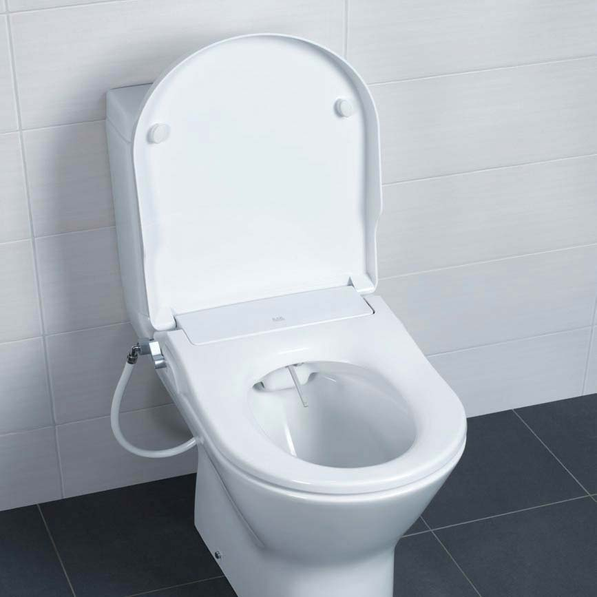 RAK Manual Non-Electric Bidet Function Soft Close Toilet Seat Large Image