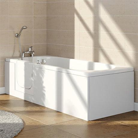 Ramsden Walk In Bath + Front Panel (1700x700mm)