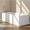 Ramsden Walk In Bath + Front Panel (1700x700mm) profile small image view 1