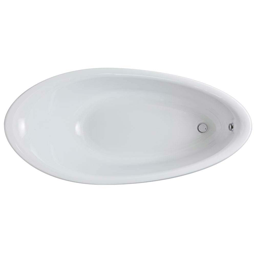 Hudson Reed Purity Freestanding Bath (1750 x 830mm) - RBBCEWH  Profile Large Image