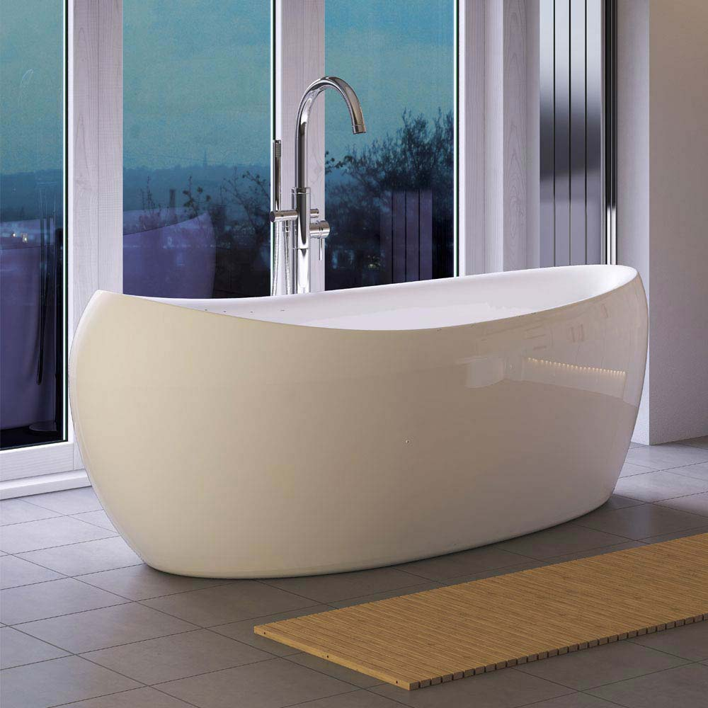 Hudson Reed Purity Freestanding Bath (1750 x 830mm) - RBBCEWH Large Image