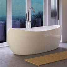 Hudson Reed Purity Freestanding Bath (1750 x 830mm) - RBBCEWH Medium Image