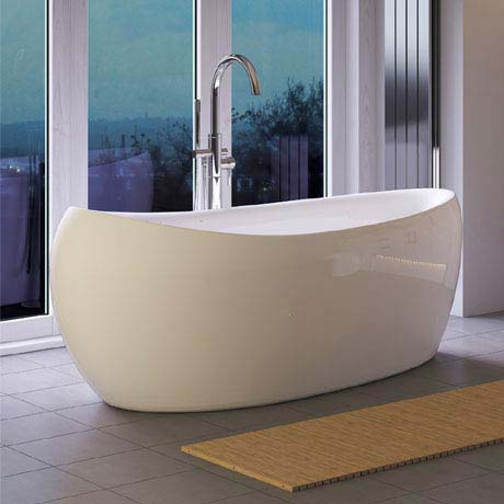 Hudson Reed Purity Freestanding Bath (1750 x 830mm) - RBBCEWH