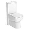 Nuie Renoir Compact BTW Toilet + Soft Close Seat profile small image view 1