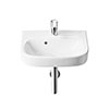 Roca Debba Wall-Hung 1TH Basin - Various Sizes profile small image view 1