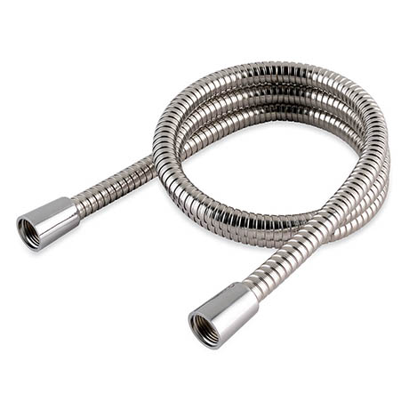 MX 1.25m Stainless Steel Double Interlock Hi-Flow Shower Hose - RCN