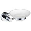 Bristan Round Soap Dish - RD-DISH-C profile small image view 1