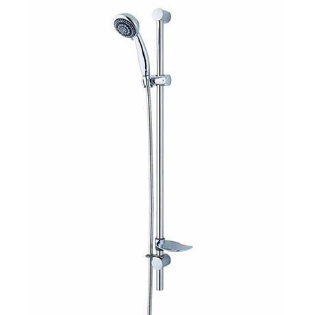MX Combo Extended 6 Mode Adjustable Shower Kit - Chrome - RD9