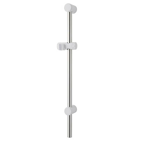 MX Combo Adjustable Shower Riser Rail - White/Chrome - RDA