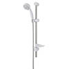 MX Combo 6 Mode Adjustable Shower Kit - White/Chrome - RDK profile small image view 1